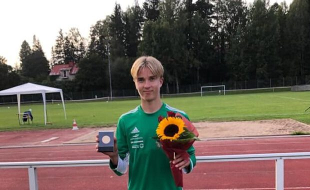 Aleksi Hilska ykkönen SM-moniottelussa