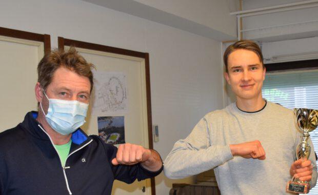 Simo Lipsanen on LUM:n vuoden urheilija