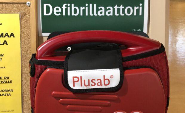LUM hankki defibrillaattorin