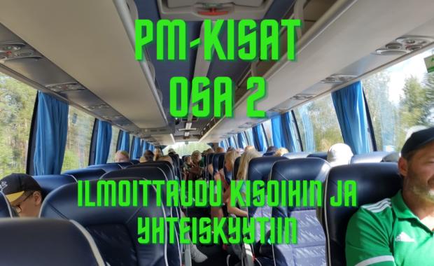 PM-kisat osa 2 Imatralla, ilmoittautuminen kisoihin ja yhteiskyytiin!